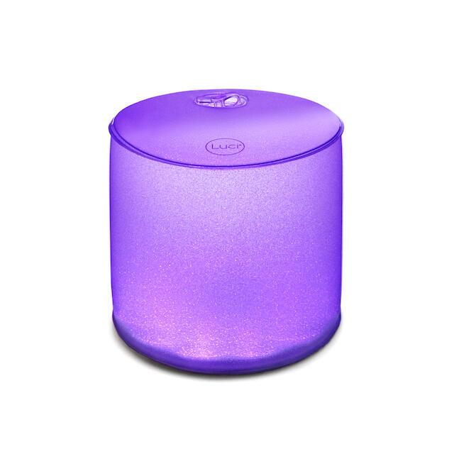 LUCI COLOR Glitter lampada 8...