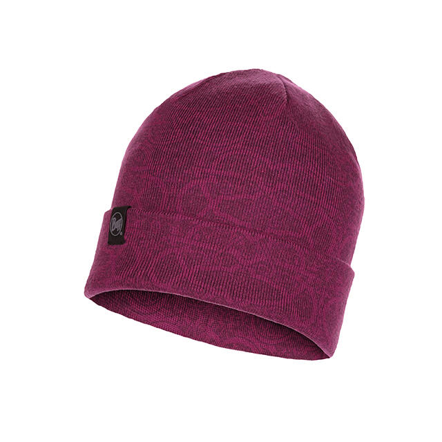 KNITTED HAT GRETA PURPLE RAS...