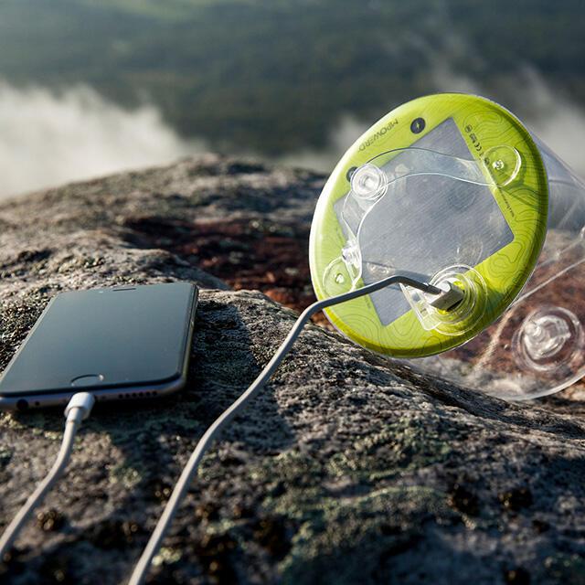 OUTDOOR 2.0 PRO Lampada gonfiabile 4 modalità luce + cavo USB